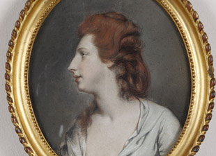 Hugh Douglas Hamilton , Mrs Hartley