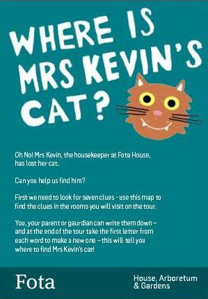 Where is Mrs Kevin's Cat