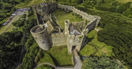 Beautiful Manorbier Castle. You can visit! http://manorbiercastle.co.uk/