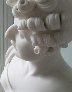 Bust of a Lady with Ringlets