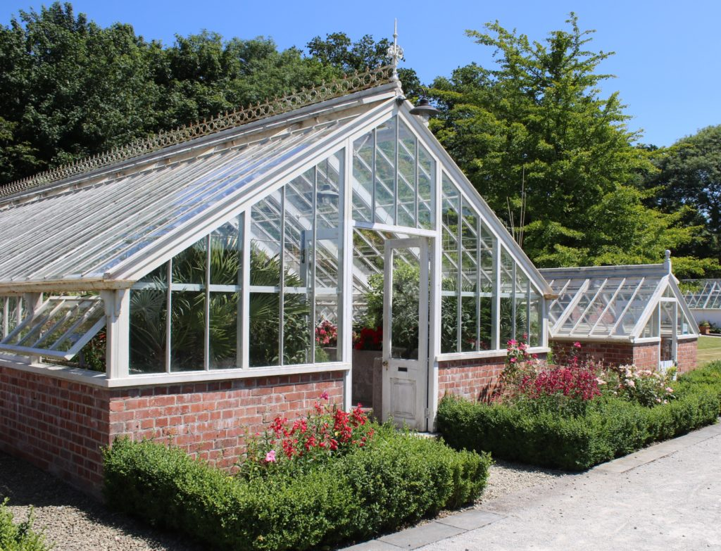Victorian working gardens at Fota House and Gardens